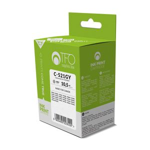 Tulostinmuste TFO C-521GY Canon CLI521GY 10.5ml - Harmaa