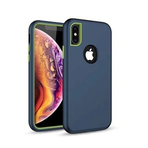 Defender Solid 3in1 suojakotelo iPhone XS Max, laivastonsininen