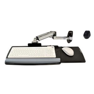 Ergotron edu Keyboard Arm w 9 extn, wall mount