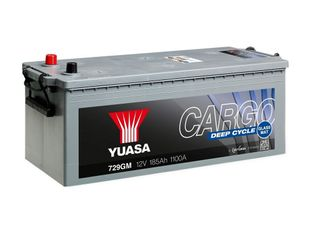Yuasa 729GM 12V 185Ah 1100CCA Cargo Deep Cycle Glass Mat Käynnistusakku