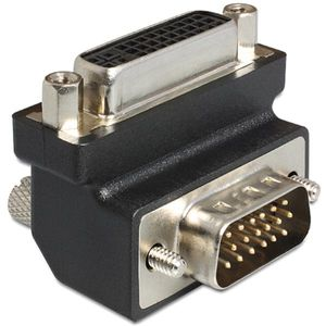 adapter dvi 24+5 pin female to vga 15 pin male 90`