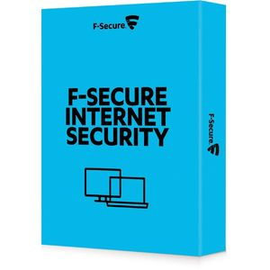 F-Secure Internet Security (1vuosi 1PC), Pohjoismainen, 25-P OEM