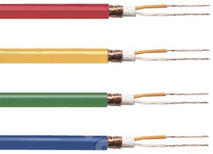 Microphone cable 2 x 0.25 mm2