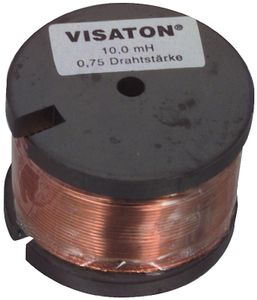 Ferrite coil with tinned wire ends 4.7 mH