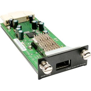 D-Link 1 slot 10GbE XFP module for DGS-3400, 3600 series