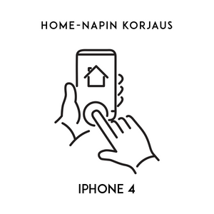 iPhone huolto - Apple iPhone 4 Home napin korjaus