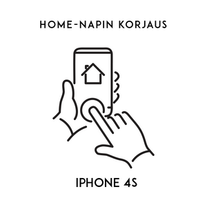Apple iPhone 4S Home napin korjaus