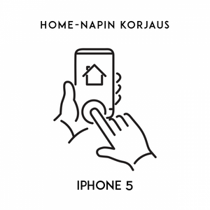 iPhone huolto - Apple iPhone 5 Home napin korjaus