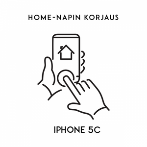 iPhone huolto - Apple iPhone 5C Home napin korjaus
