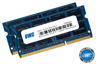 OWC RAM 16GB KIT (2X8GB) 2666MHZ DDR4 SO-DIMM PC4-21300