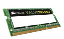 CORSAIR DDR3L VALUESELECT 1600MHZ 8GB 1x204 SODIMM Unbuffered