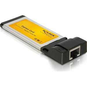 ExpressCard 34mm, Gigabit Ethernet, 1xRJ45