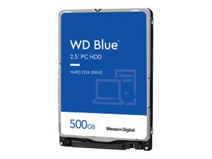 """WD Blue Mobile 500GB HDD SATA 2.5"""" Kovalevy"""