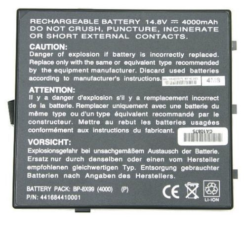 Packard Bell Easy Note F7305/P, Easy Note F7305, Easy Note F7300, Easy Note F7280, Easy Note F5 Series 2140 akku 4400 mAh